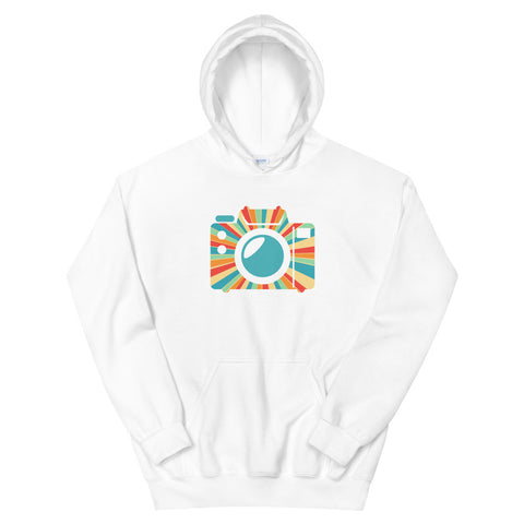 Colorful Camera Hoodie - picgraph
