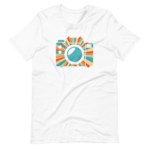 Colorful Camera T-Shirt - picgraph