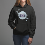 Camera Bubble Icon Hoodie - picgraph