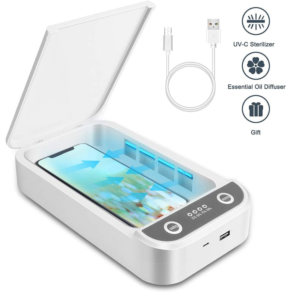 UV Light Phone Sterilizer Box