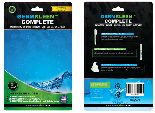 GERMKLEEN™ Complete Kit
