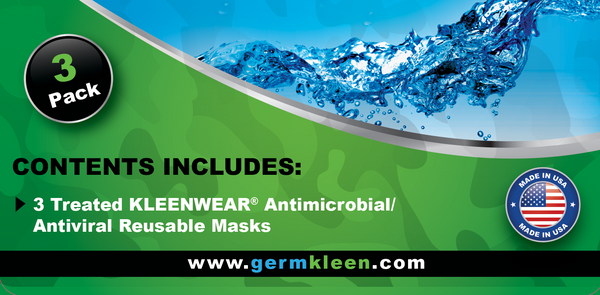 Antimicrobial and antiviral sanitizer surgical healthcare masks