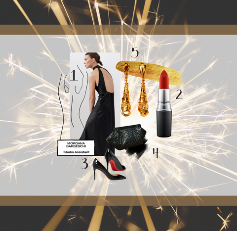 Morgana SKIIM Studio Assistant New Year Party Style