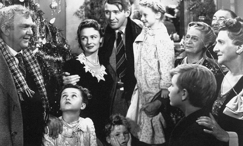 Skiim Christmas Movie marathon; It's a wonderful life