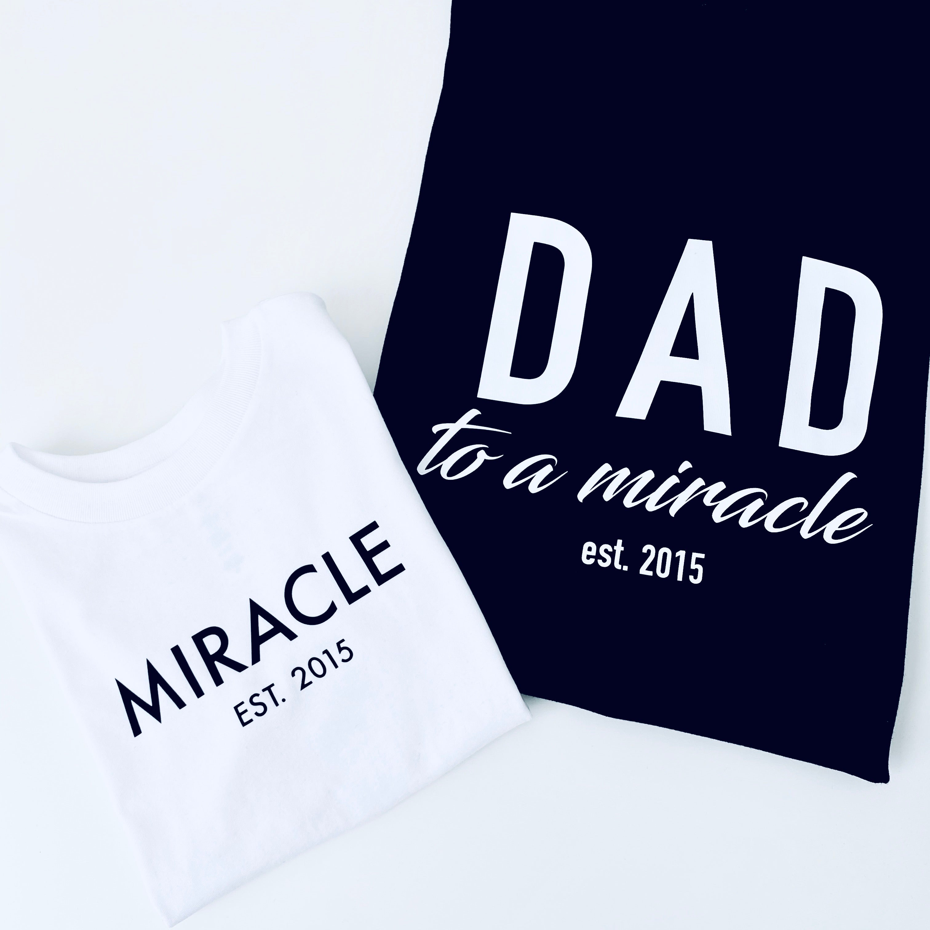 DAD TO A MIRACLE BUNDLE