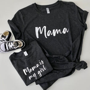 MAMA IS MY GIRL VINTAGE BLACK BUNDLE