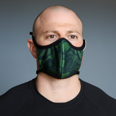 Made in the USA: Cloth mask/ face covering for everyday use.