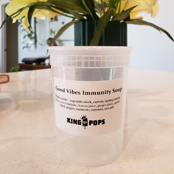 King of Pops Good Vibes Immunity Soup - 32oz