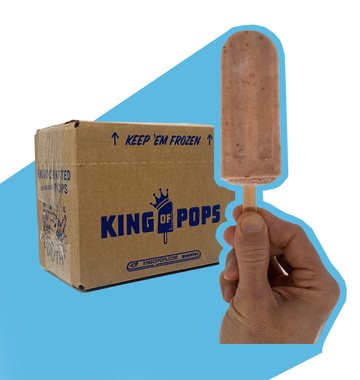 King of Pops - Strawberries n' Cream  25-pack