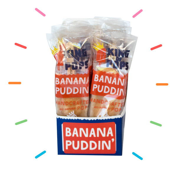 King of Pops - Banana Puddin' 12-pack