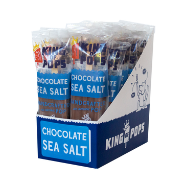 King of Pops - Chocolate Sea Salt 12-pack