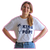 King of Pops White Shirt with Navy Logo