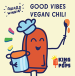 King of Pops Good Vibes (spicy) Vegan Chili  - 32oz