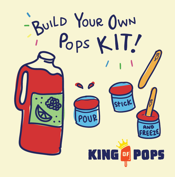 King of Pops Pop Making Kit - Raspberry Lime  - 64oz