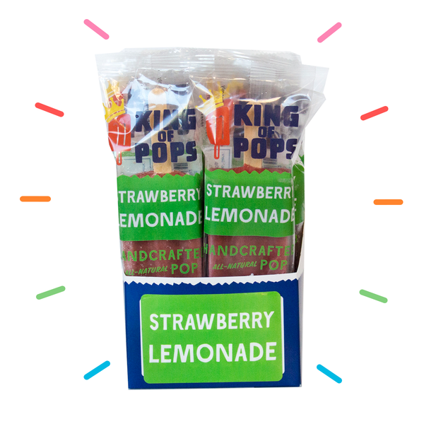 King of Pops - Strawberry Lemonade 12-pack