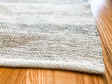 Load image into Gallery viewer, 4x6 Pearl Striped Rug - Leyland Blue
