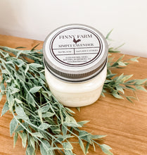 Load image into Gallery viewer, Finny Farm's 8oz Candles - Leyland Blue