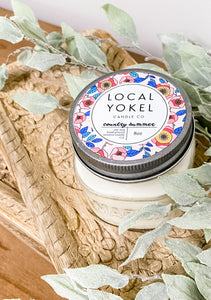 Local Yokel 8oz Candles - Leyland Blue