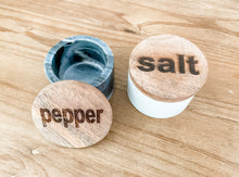 Load image into Gallery viewer, Salt & Pepper Holders
