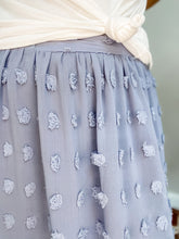 Load image into Gallery viewer, Sky Blue Midi Skirt