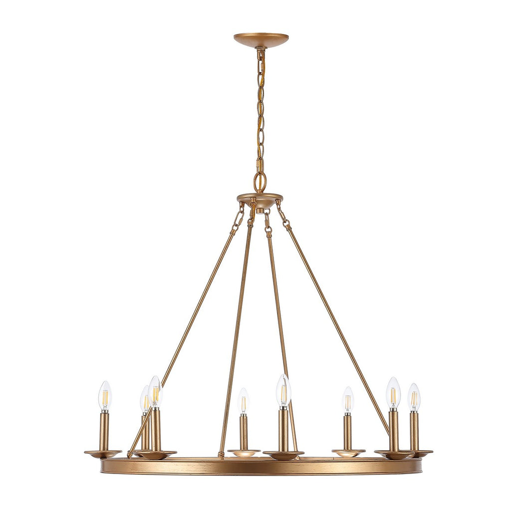Oslo Gold Chandelier