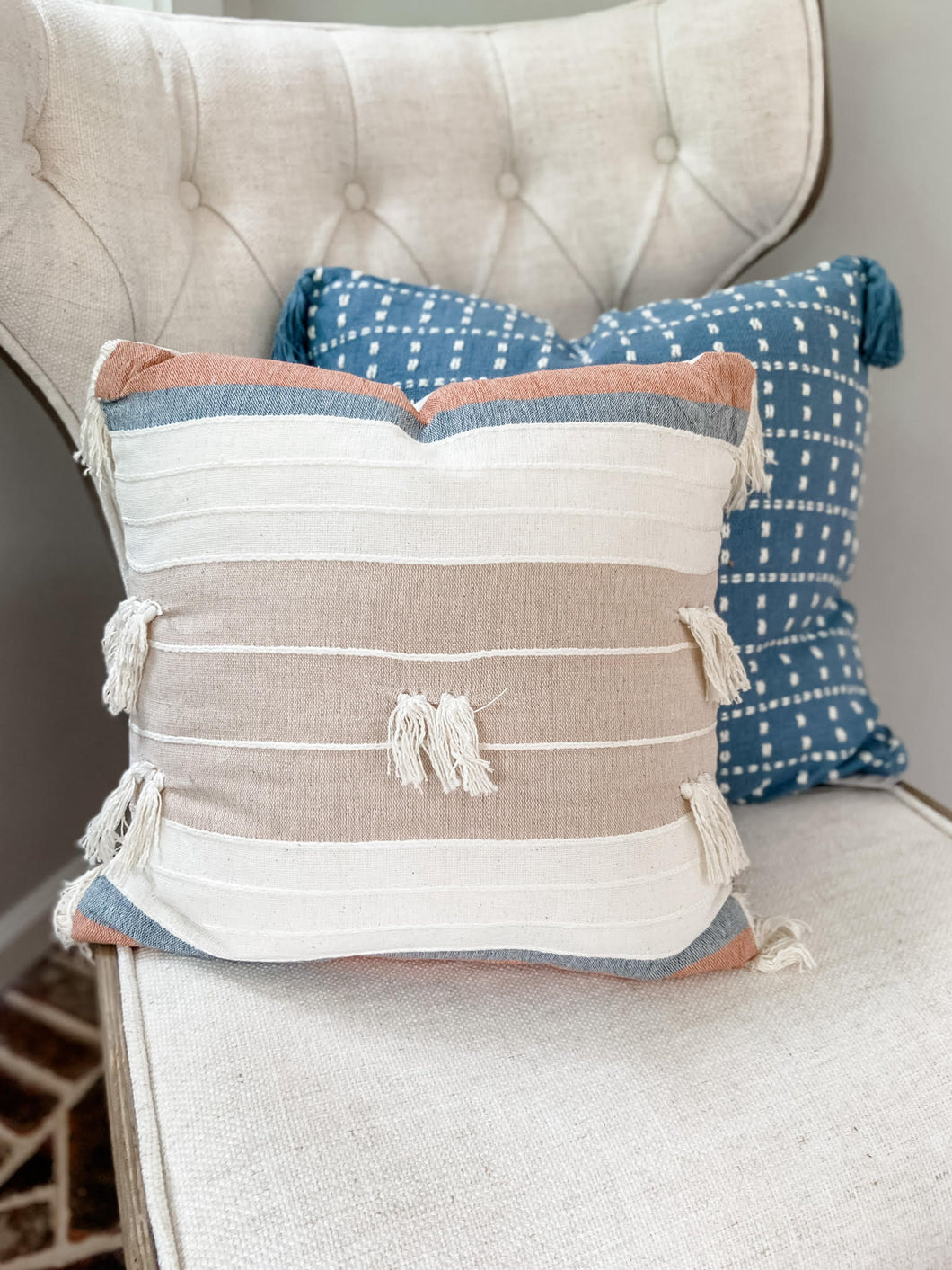 Pastel Polly Pillow