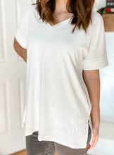Load image into Gallery viewer, Chloe Tee in Ivory