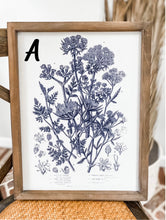 Load image into Gallery viewer, Framed Botanical Canvas