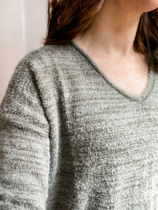 Cozy Canyon Sweater in Green