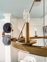 Load image into Gallery viewer, Oslo Gold Chandelier