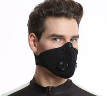 Load image into Gallery viewer, Two Valve Mesh Velcro Strap Mask- KN95