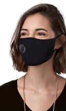 Load image into Gallery viewer, Black One Valve Cotton Mask