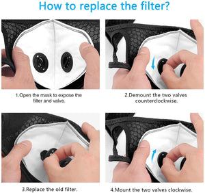 Directions to Replace the Two Valve Carbon Activated Filters