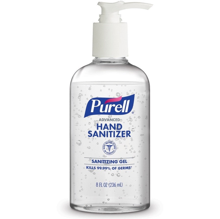 Purell Advanced Hand Sanitizer Gel 8 oz