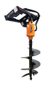 Earth Auger Set of Skid Steer