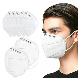 Ear-looped,Pleated and Hypo-Allergenic Latex and Fiber-Glass Free Mask