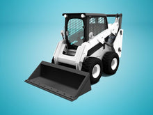 Load image into Gallery viewer, Bobcat Skid Steer with 1000-1499lb