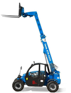 19 inch Shooting Boom Forklift With Operator - 5500lb Capacity