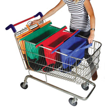 Load image into Gallery viewer, Reusable Grocery Trolley Bags