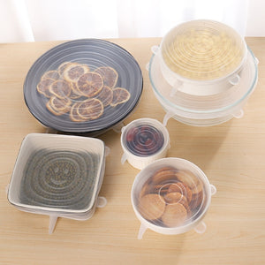 Stretch & Seal Lids (6 Pieces)
