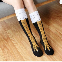 Load image into Gallery viewer, Hilarious Chicken Leg Socks