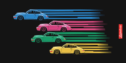 Porsche Beach towel - 964 RS