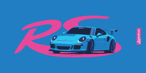 Porsche Beach towel - 991 GT3RS