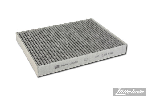 Cabin air filter w/ activated charcoal - Porsche Cayenne, 2003-2010