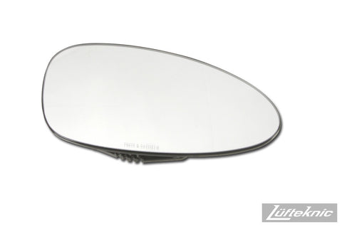 Door mirror glass, right side - Porsche 911 Turbo type 964, C2 / C4 / Turbo type 993, 968, 928 1993-1995