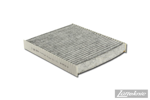 Cabin air filter w/ activated charcoal - Porsche Panamera, 2010-2014