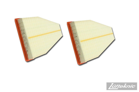 Engine air filter set - Porsche 911 C2 / C4 / GT3 type 991, 2013+