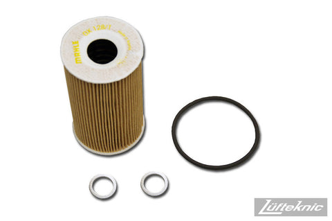 Engine oil filter kit w/ crush rings - Porsche Cayenne 4.5 V8 2003-2008