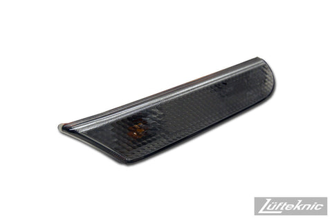 Side marker light set, clear or gray - Porsche 911 type 996, Boxster type  986