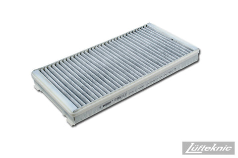Cabin air filter w/ activated charcoal - Porsche 911 type 996 / 997, Boxster / Cayman type 986 / 987